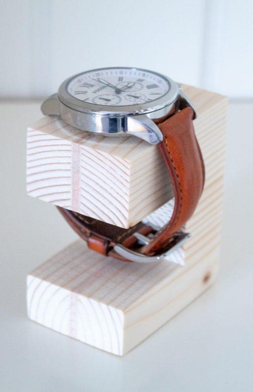 Expositor de relojes de madera