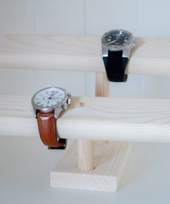 Porta relojes doble