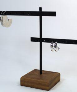 Colgador de madera pendientes (1)