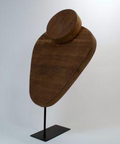 Busto madera collar - INOA