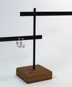 Colgador madera pendientes (2) trasera