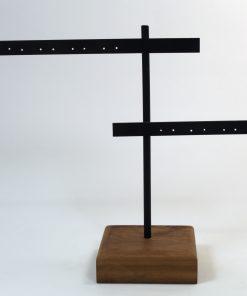 Colgador de madera pendientes