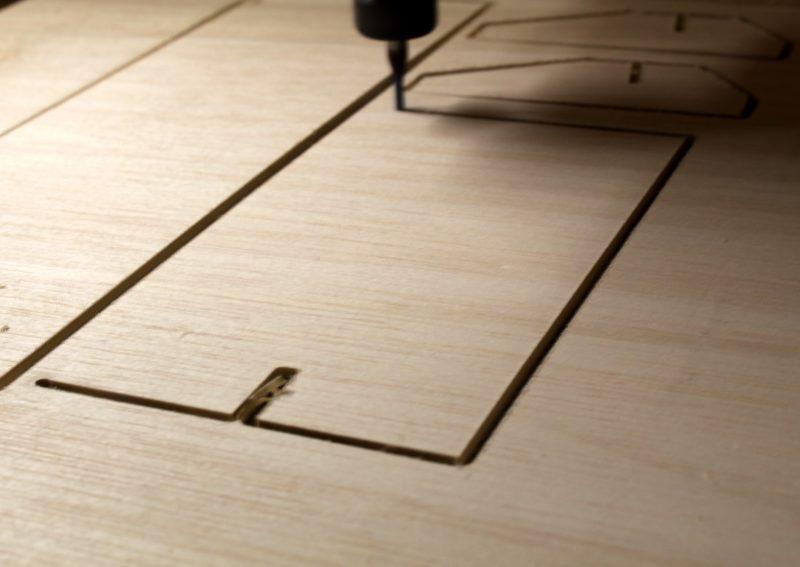 Corte CNC en madera