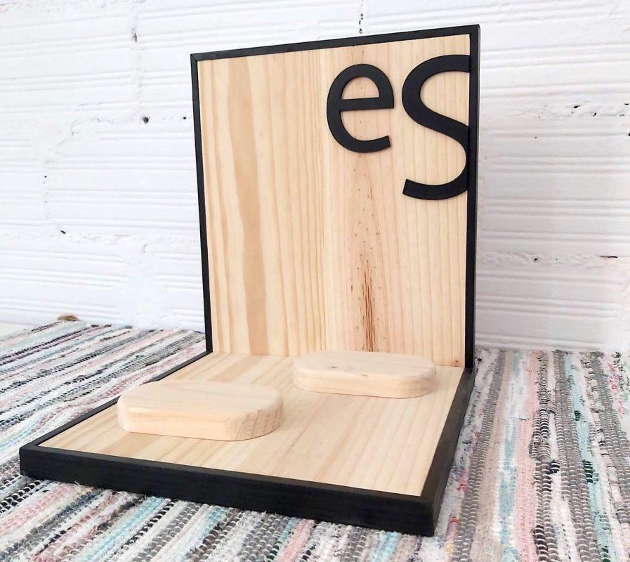 Expositor de mesa y mostrador personalizado