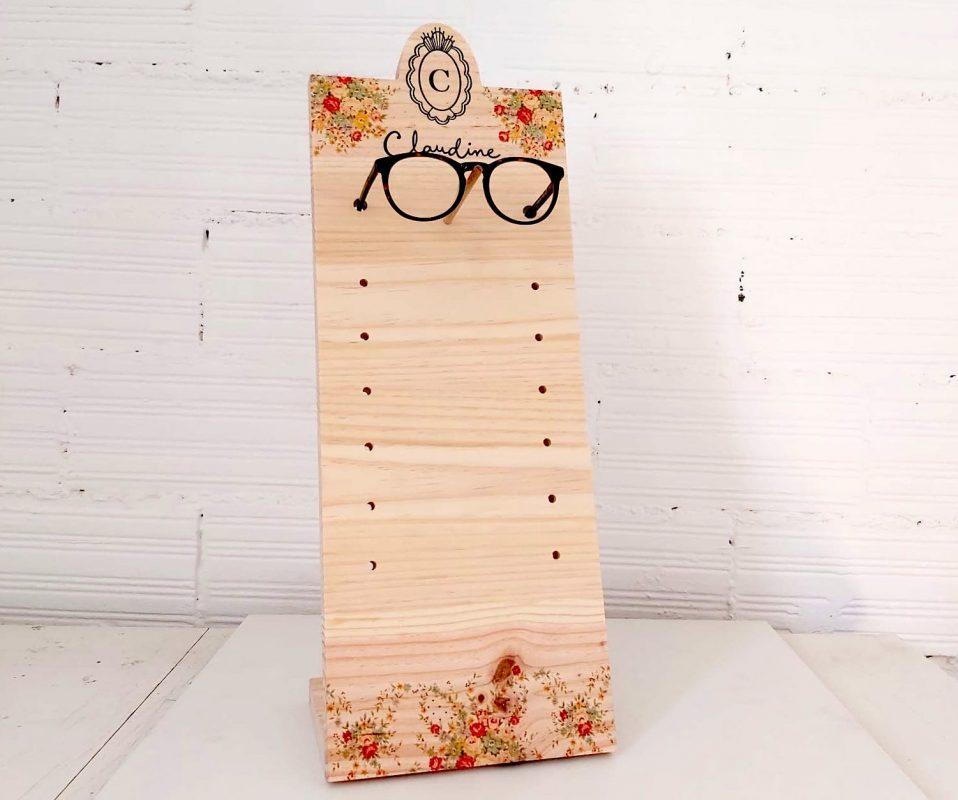 Display de mostrador para gafas personalizado